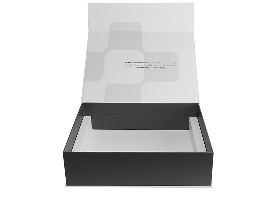 White Magnetic Paper Box