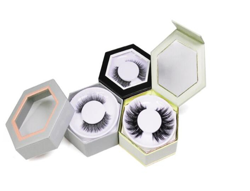 Cardbaord Eyelashes Packaging Box
