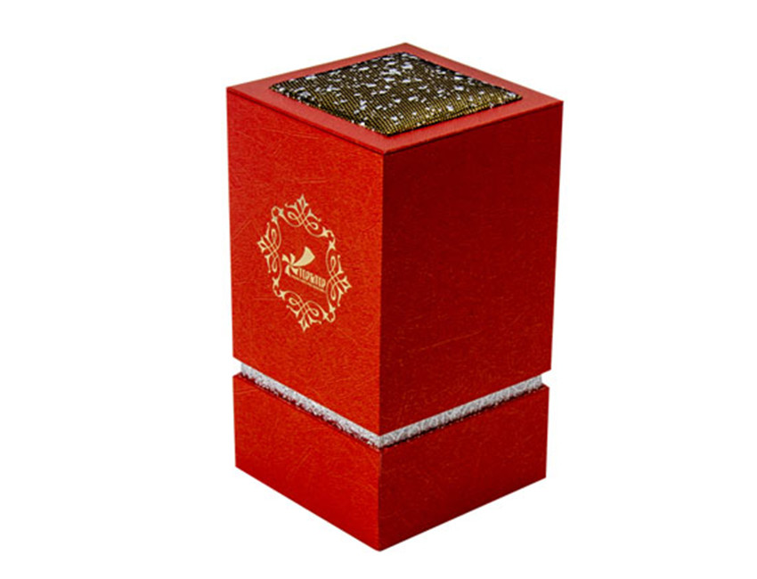 Red Lid and Base Perfume Box