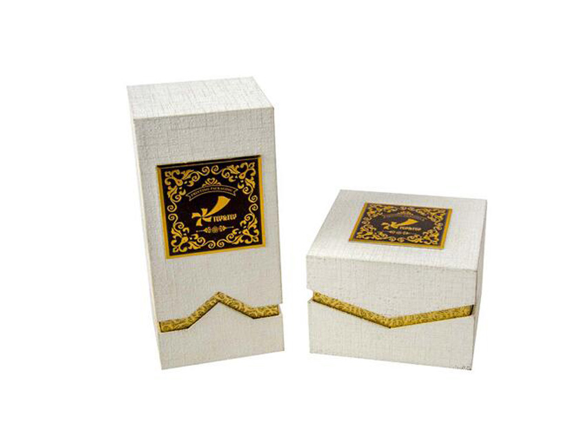 White Perfume Box Wholesale