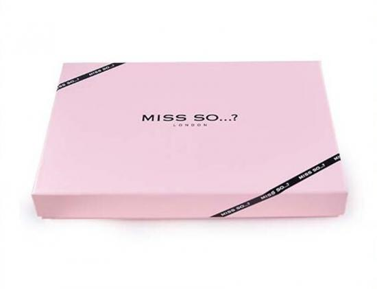 Pink Dress Packaging Box